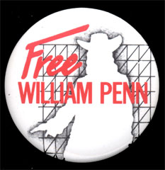 Free William Penn button